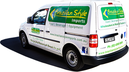 Brazilian Imports Delivery Van