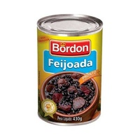 Black Beans and Meat Casserole (Feijoada Pronta e Temperada) 430g