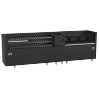 Black Finish Charcoal or Wood Fired Rotisserie - Super 500 Series