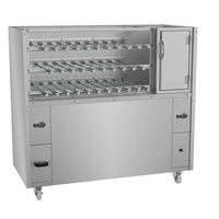 Charcoal or Wood Fired Rotisserie with Fire Box- Super 320 Series