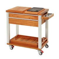 Delux BBQ Trolley