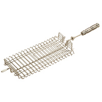 Basket clamp skewer