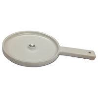 Plastic skewer serving board