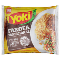 Seasoned Cassava Flour (Farofa Pronta) 500g