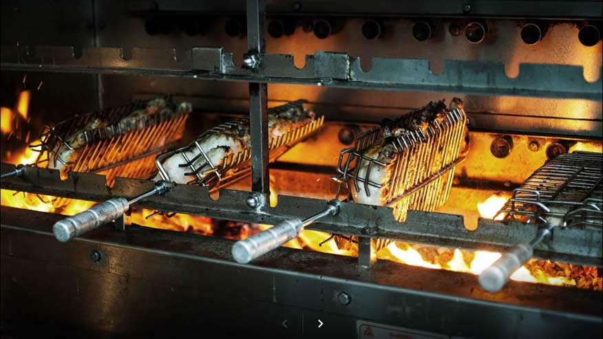 Charcoal Wood Amp Gas Fired Commercial Rotisseries