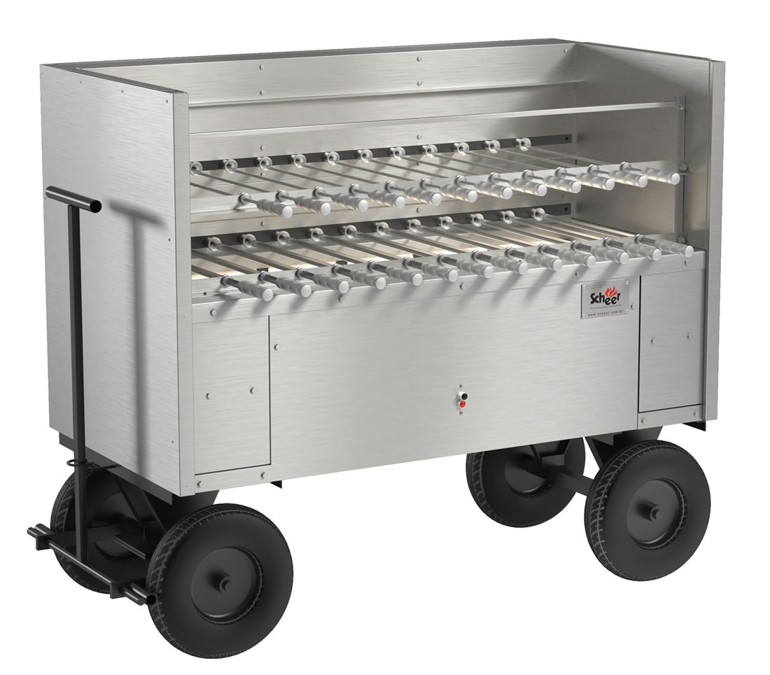Mobile Catering Rotisserie