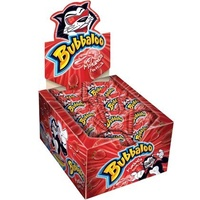 Bubbaloo 300g- Bubble Gum Strawberry 60x5g units in a box
